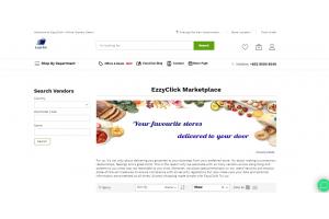 Online groceries with EzzyClick- 2021